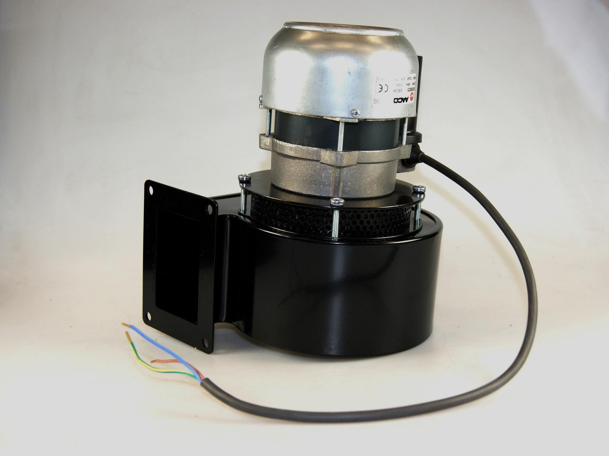 Rookgasventilator Aaco Va3H60R, 230 V. Winterwarm