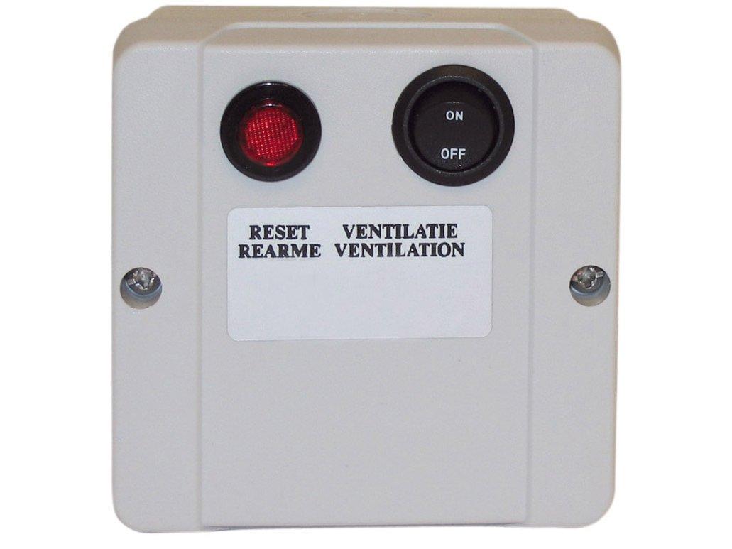 GA5010 Reset-Ventilatiekastje