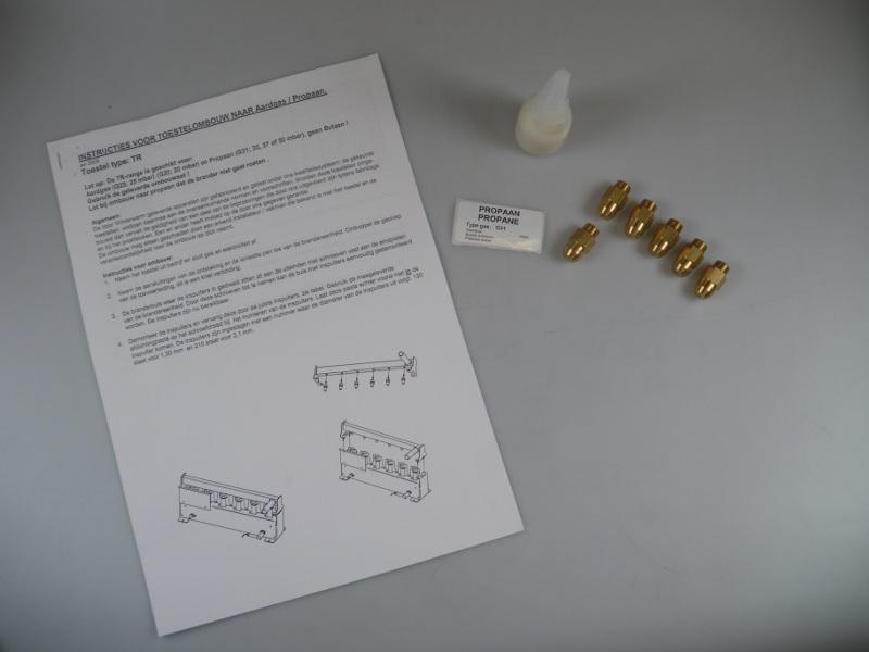 Ombouwset Propaan TR80-2/DXC/DXE80