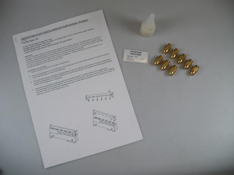 OMBOUWSET PROPAAN TR100-2