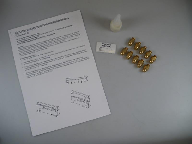 Ombouwset Propaan TR125-2