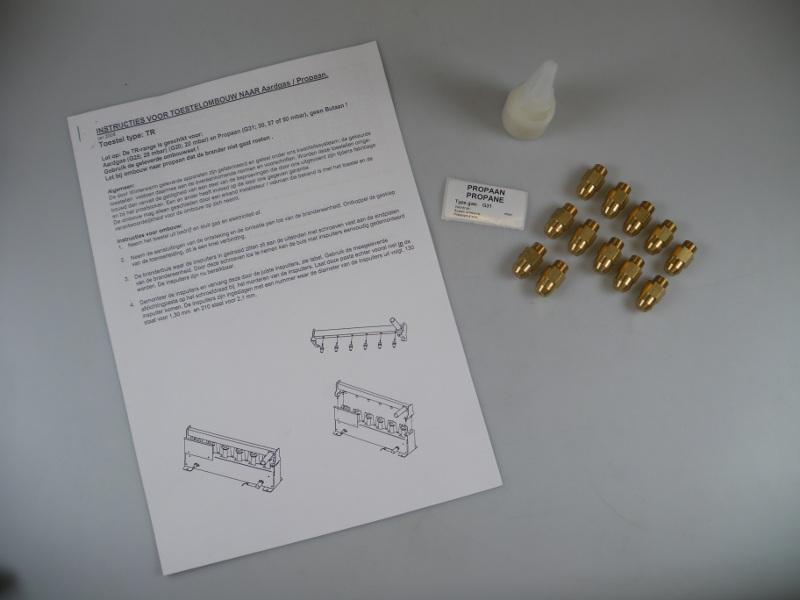 Ombouwset Propaan TR150-2