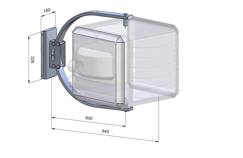 Designbeugel XR 10-30 / HR 10-20