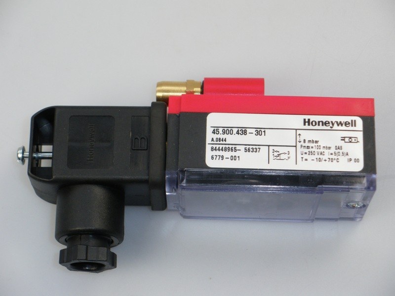 Minimum gasdruk schakelaar set + connector