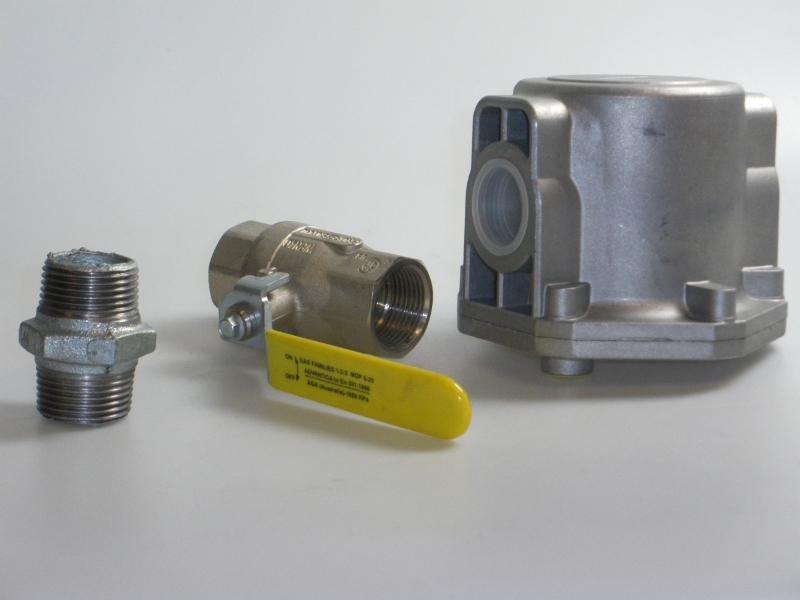 Gaskraan + Filterset 1