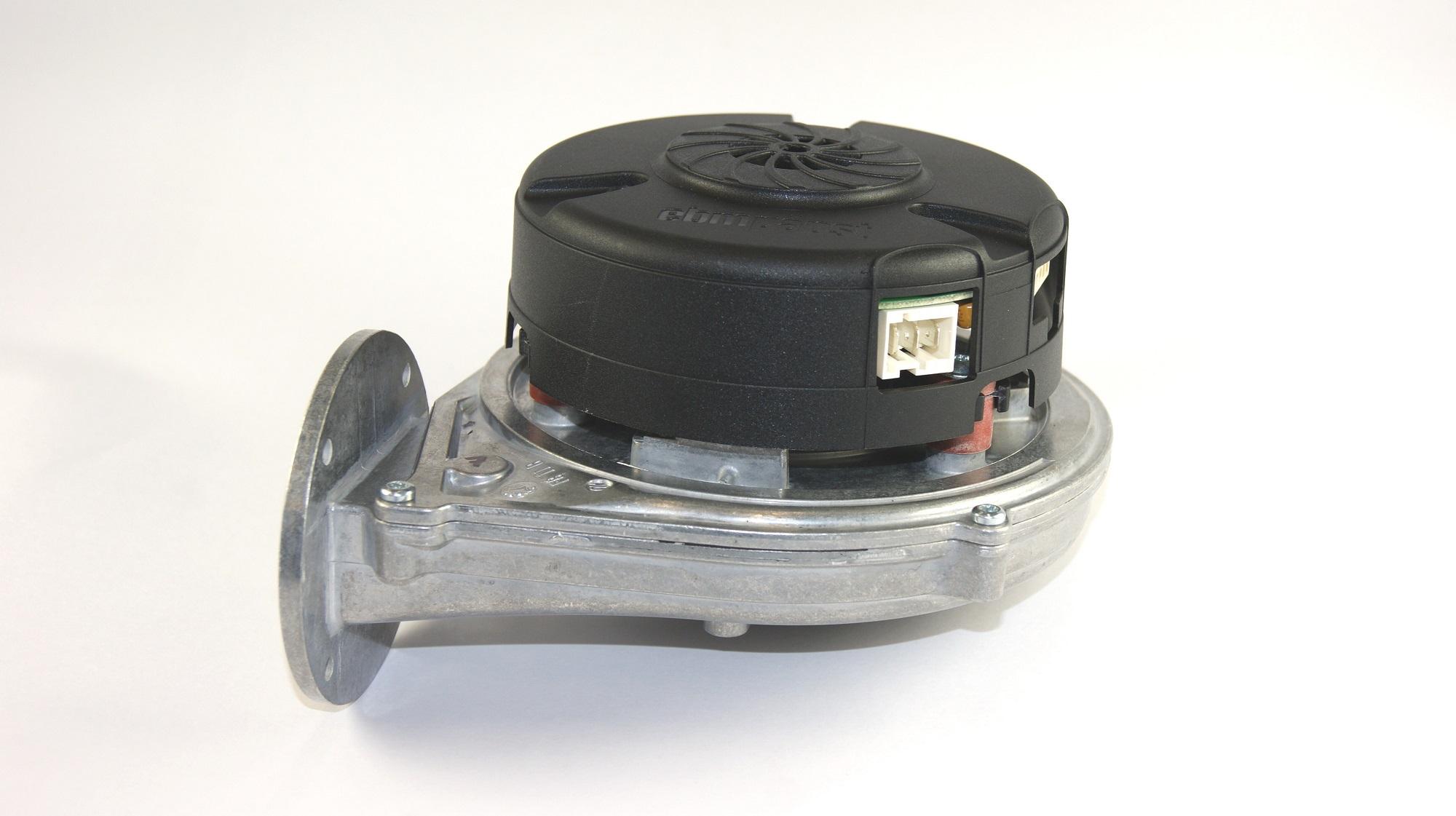 Rookgas ventilator EBM