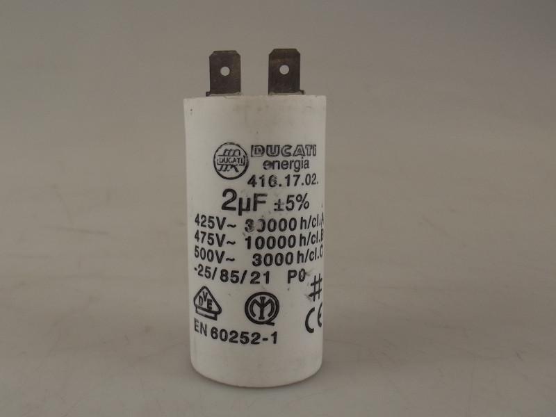 Condensator 2.0uF/450V voor RGV. VA3+4