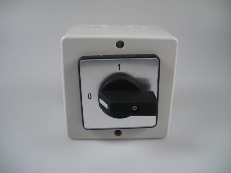 Werkschakelaar 230V tbv. XR/HR/WSP/URS/URC Winterwarm