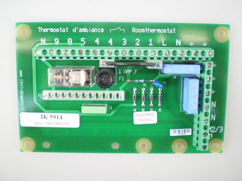 Besturingsprint SIT (met diode)