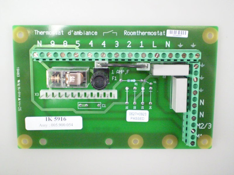 Besturingsprint SIT (zonder diode)
