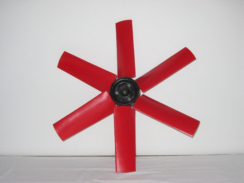 Ventilatorblad 6-bladig