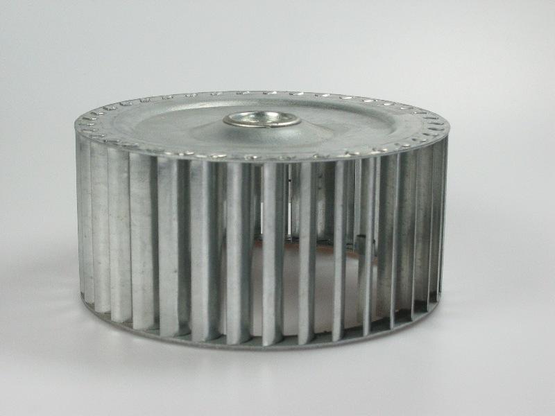 Schoepenrad tbv brander ventilator