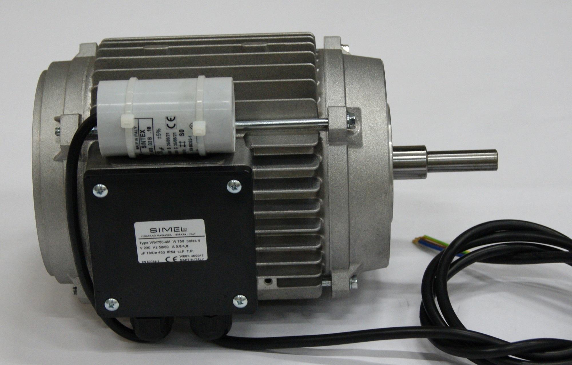 Motor  0.75 kW 50/60Hz. Gas (S)