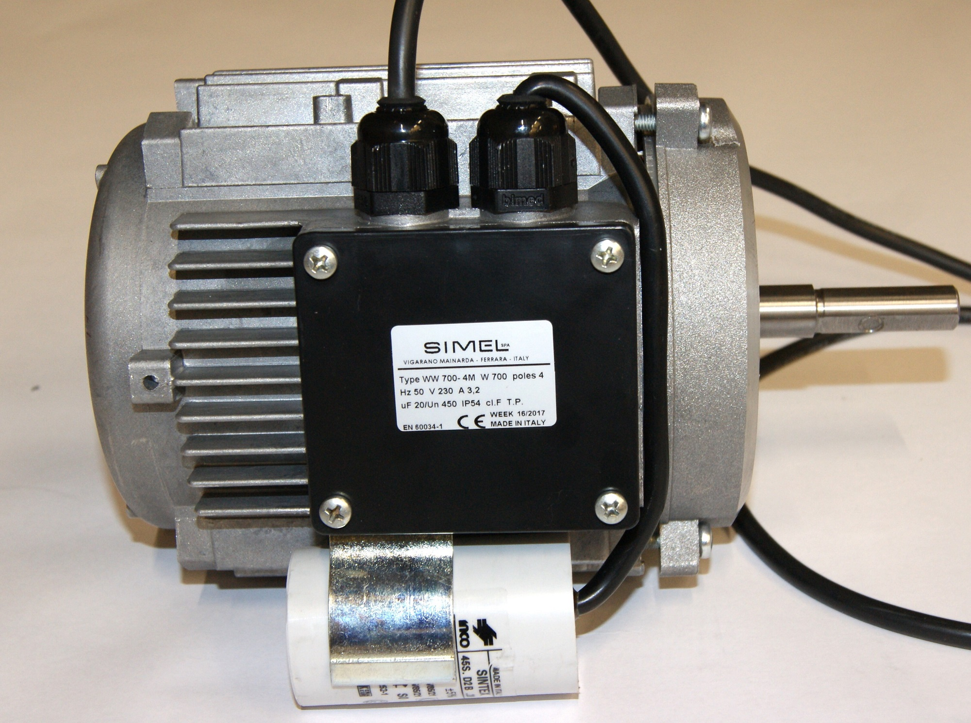 Motor 0.70 KW 50Hz Gas (S)