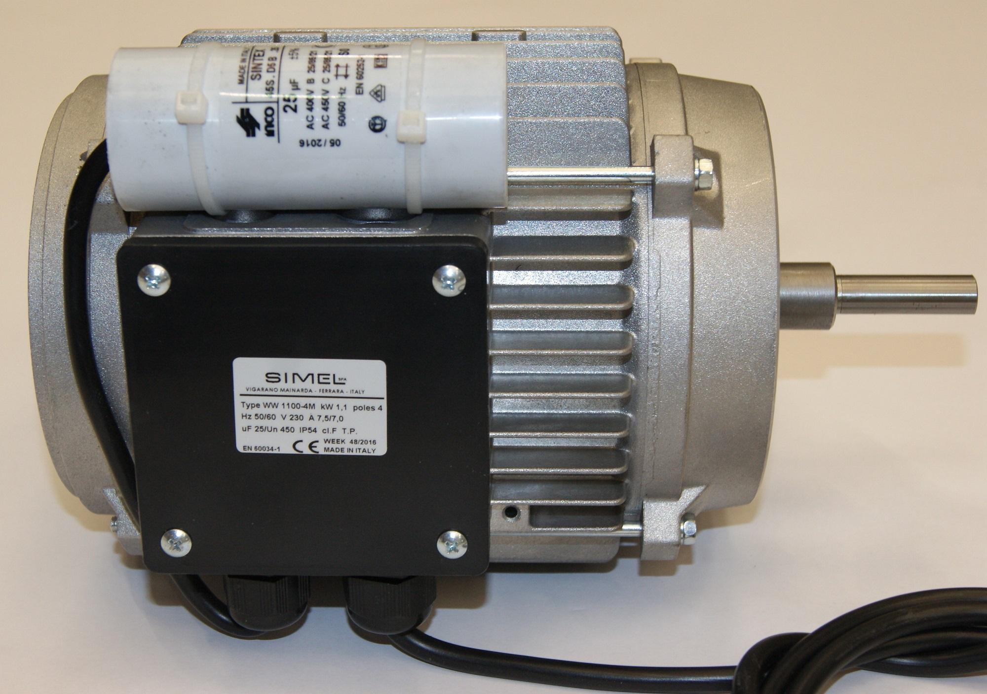 Motor 1.1KW 50/60Hz Gas (S)