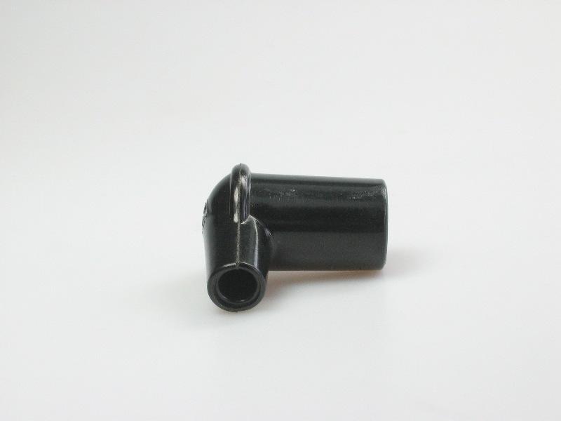 Haakse bougiekap 4mm
