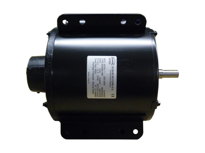 Motor Bx350E (oliepomp aansluiting)