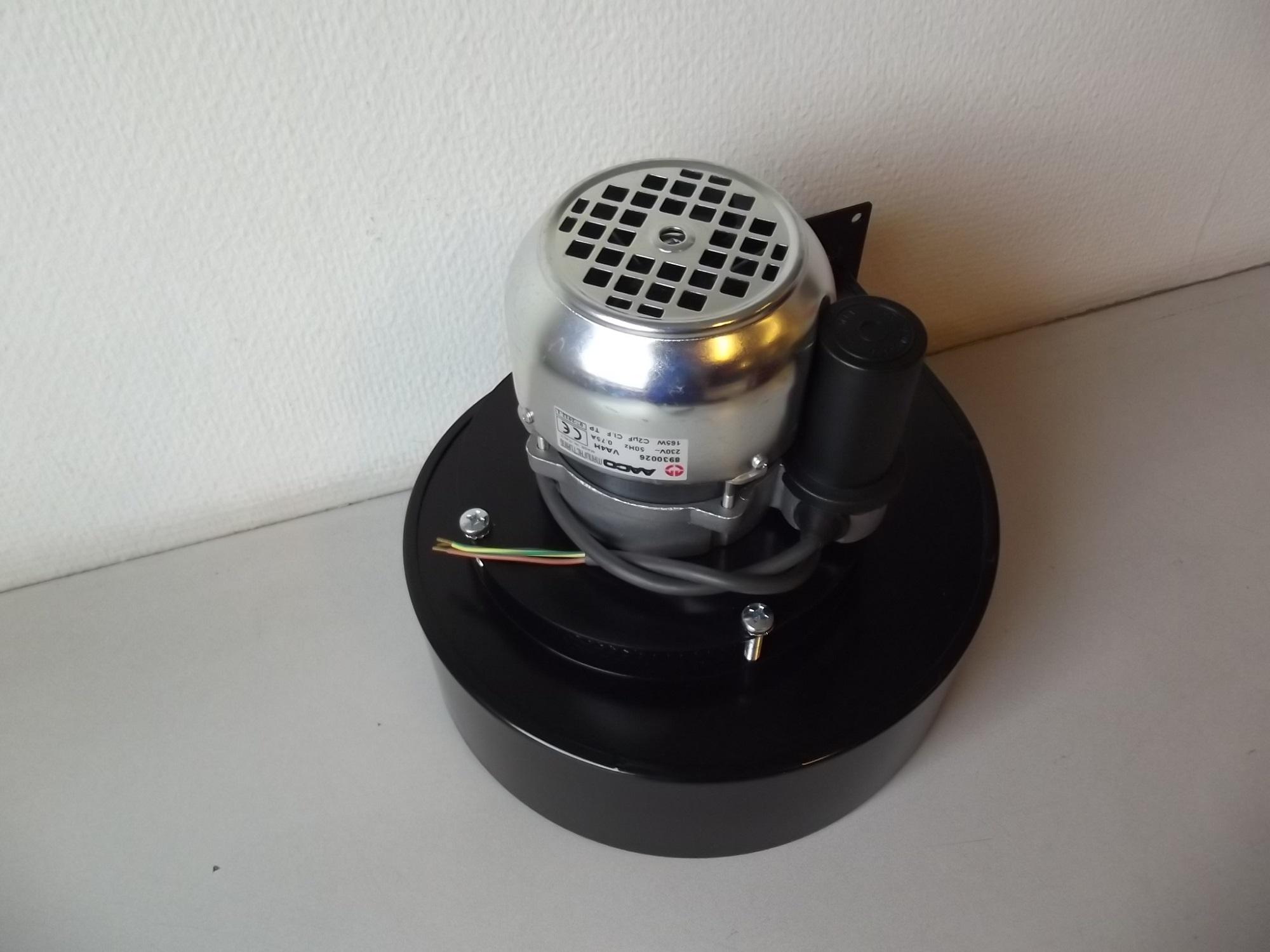 Rookgasventilator set Va4H50R Winterwarm